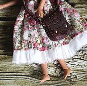 Куклы и игрушки ручной работы. Ярмарка Мастеров - ручная работа Сумка для куклы или мишки. Handmade.