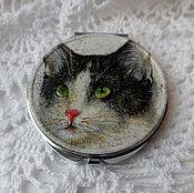 Сувениры и подарки handmade. Livemaster - original item Pocket mirror
