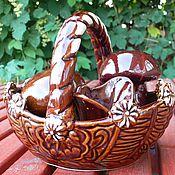 Посуда ручной работы. Ярмарка Мастеров - ручная работа набор для кухни. Handmade.