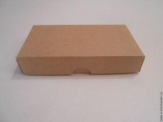 Подарочная упаковка ручной работы. Ярмарка Мастеров - ручная работа. Купить Коробочка из микрогофрокартона. Handmade. Коричневый, упаковка подарка, картон