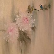 """Картины и панно handmade. Livemaster - original item Oil painting """" Chinese art"""". Handmade."""