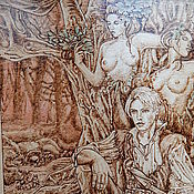 """Картины и панно ручной работы. Ярмарка Мастеров - ручная работа Картина """"Дриады"""". Handmade."""