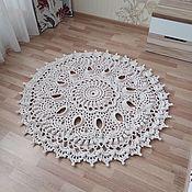 handmade. Livemaster - original item Cotton carpet