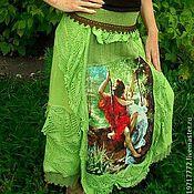"""Одежда ручной работы. Ярмарка Мастеров - ручная работа Юбка """"Нежность"""" в стиле """"бохо"""". Handmade."""