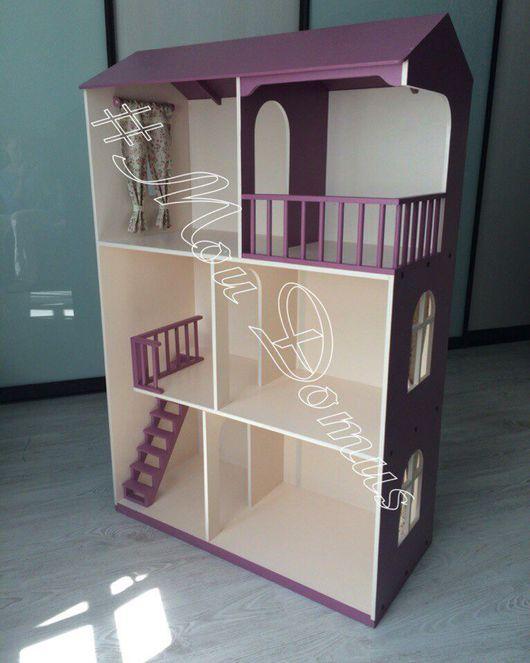 Кукольный дом ручной работы. Ярмарка Мастеров - ручная работа. Купить Кукольный дом. Handmade. Кукольный дом, дом для куклы