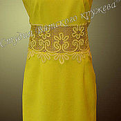 Материалы для творчества handmade. Livemaster - original item Lace trim for dress. Handmade.