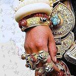 Lazurite. Украшения из камней (tibet) - Ярмарка Мастеров - ручная работа, handmade