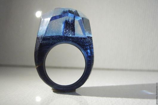 Деревянное кольцо Умиротворение. Кольцо из натурального дерева.