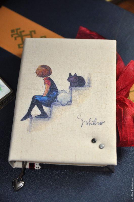 """Блокноты ручной работы. Ярмарка Мастеров - ручная работа. Купить Блокнот ручной работы """"Cats"""". Handmade. Блокнот ручной работы"""
