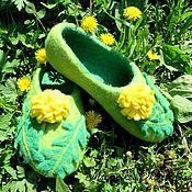 Обувь ручной работы handmade. Livemaster - original item felt slippers