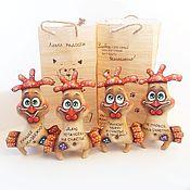 Куклы и игрушки ручной работы. Ярмарка Мастеров - ручная работа Кофейные позитивчики: Петушок. Handmade.
