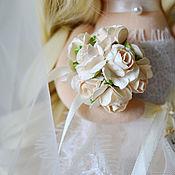 Куклы и игрушки handmade. Livemaster - original item The Bride and groom. Handmade.