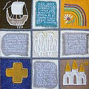 Картины и панно ручной работы. Ярмарка Мастеров - ручная работа гобелен ,,По страницам детской библии ,, часть2. Handmade.