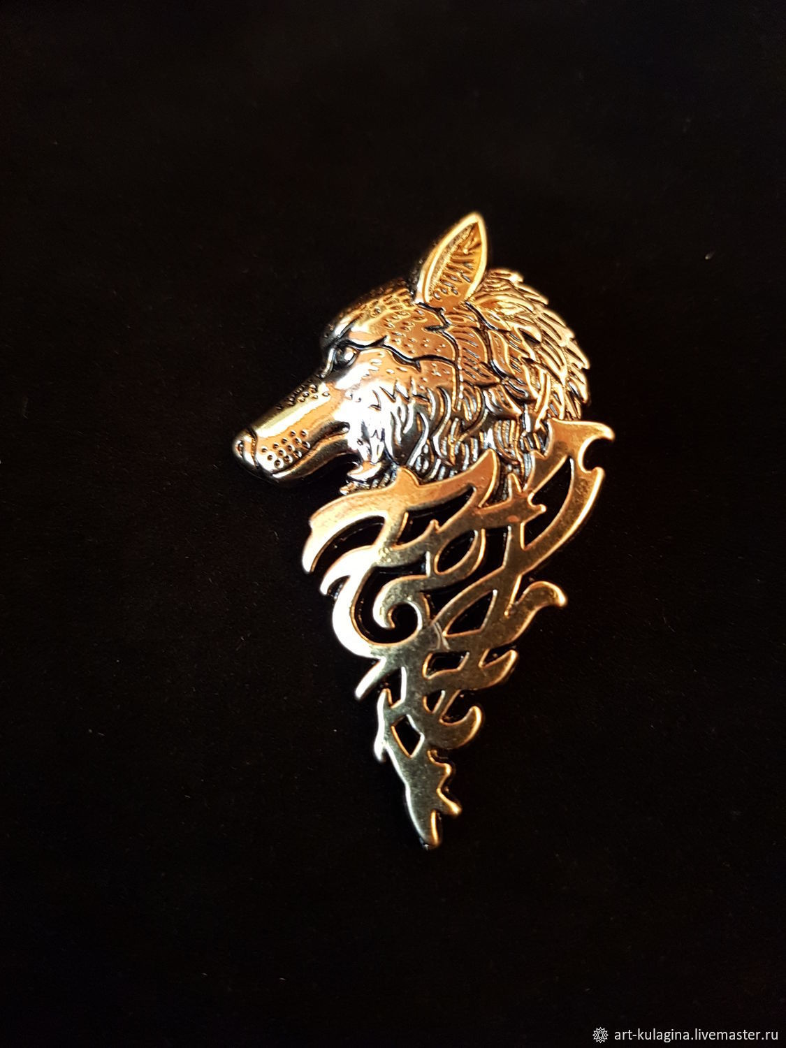 brooch 'Wolf', Brooches, Moscow,  Фото №1