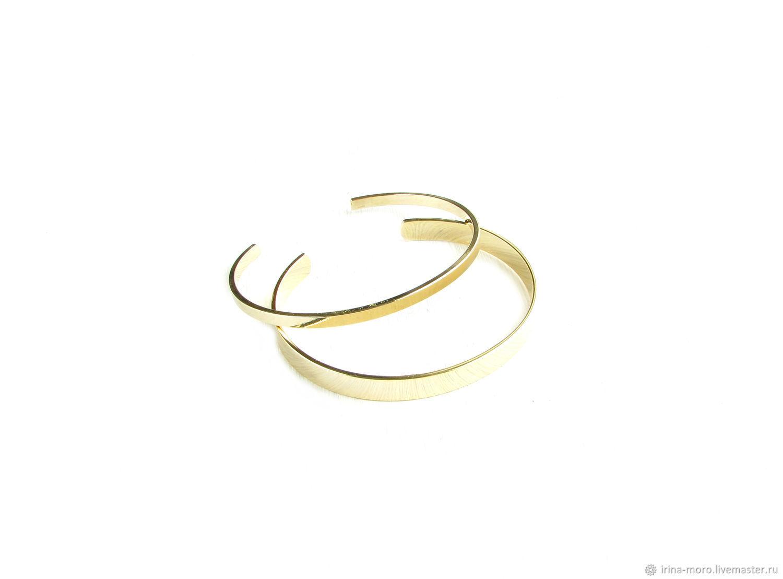 Set of bracelets 'Minimalist'gold women's bracelet strip, Bracelet set, Moscow,  Фото №1