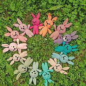 Куклы и игрушки handmade. Livemaster - original item Little Bunny crocheted. Handmade.