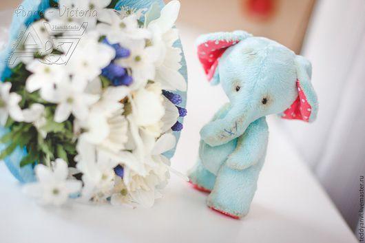 Очаровательный тедди слоник. Нежное создание. Приглашаем на МК по созданию такого чуда.