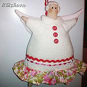 Куклы и игрушки ручной работы. Ярмарка Мастеров - ручная работа Пирожный ангел Дуняша. Handmade.