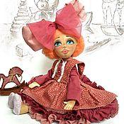 Куклы и игрушки ручной работы. Ярмарка Мастеров - ручная работа Алиса с лошадкой. Handmade.
