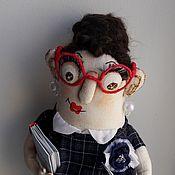 Куклы и игрушки ручной работы. Ярмарка Мастеров - ручная работа Учительница, кукла учитель. Handmade.