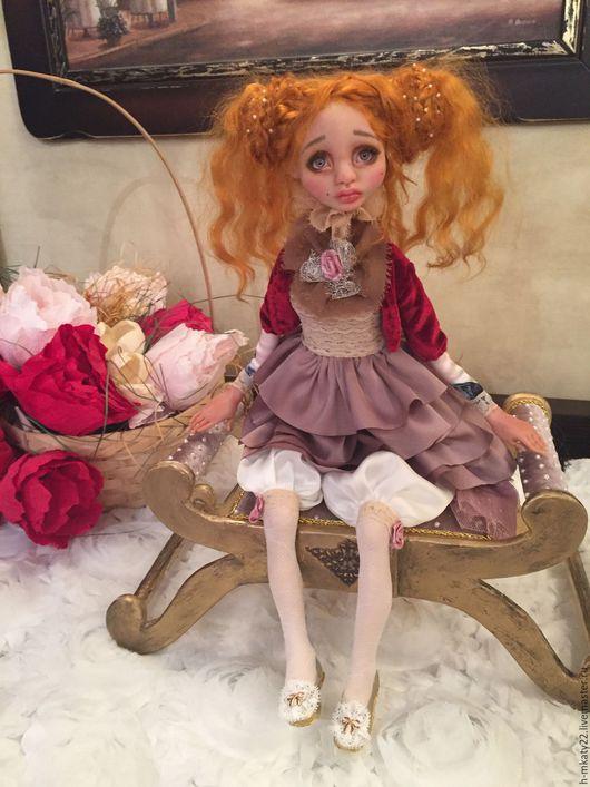 Коллекционные куклы ручной работы. Ярмарка Мастеров - ручная работа. Купить Виктория. Handmade. Кремовый, авторские куклы, living doll