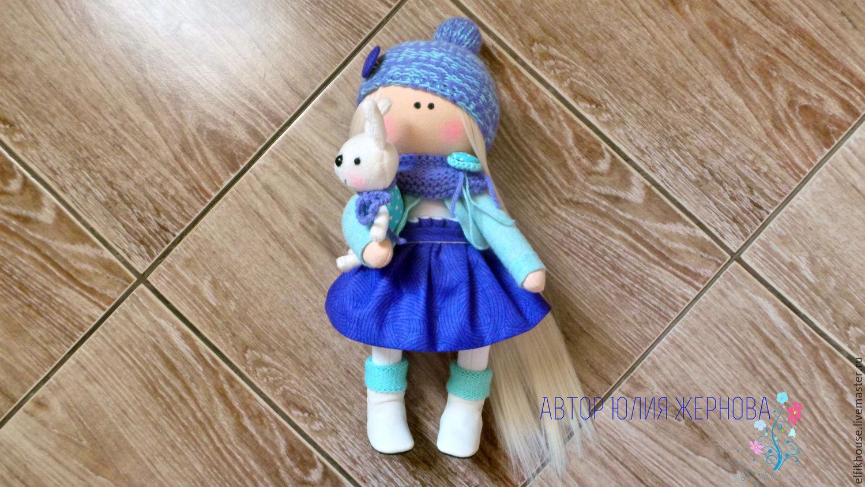 Интерьерная кукла Зефиринка, Куклы и пупсы, Сочи,  Фото №1