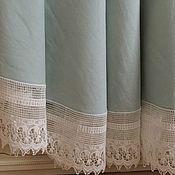Для дома и интерьера handmade. Livemaster - original item Tablecloth made of boiled flax
