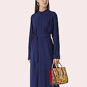 Одежда ручной работы. Ярмарка Мастеров - ручная работа Офисное платье на работу в офис. Handmade.