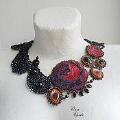 Украшения ручной работы. Ярмарка Мастеров - ручная работа Пейсли и розы. Handmade.