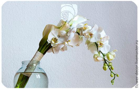 Свадебные цветы ручной работы. Ярмарка Мастеров - ручная работа. Купить Букет невесты. Handmade. Букет невесты, цветы