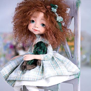 """Куклы и игрушки ручной работы. Ярмарка Мастеров - ручная работа Коллекционная кукла """"Марика"""". Handmade."""