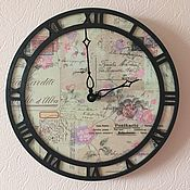 Часы ручной работы. Ярмарка Мастеров - ручная работа Открытки из Италии. Handmade.