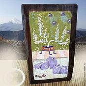 Субкультуры ручной работы. Ярмарка Мастеров - ручная работа Маленькая Япония, брусок для благовоний. Handmade.