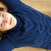 Свитеры ручной работы. Ярмарка Мастеров - ручная работа Толстый мягкий свитер ручной работы. Handmade.