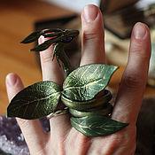Куклы и игрушки ручной работы. Ярмарка Мастеров - ручная работа Драконы - Духи весенней листвы (маленькие). Handmade.