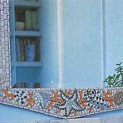 Для дома и интерьера ручной работы. Ярмарка Мастеров - ручная работа Зеркало ручной работы в ванную. Handmade.