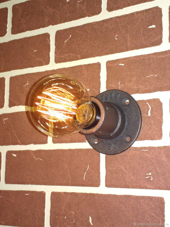 Настенный / потолочный светильник в стиле Лофт (Loft), Индастриал, Бра, Москва, Фото №1