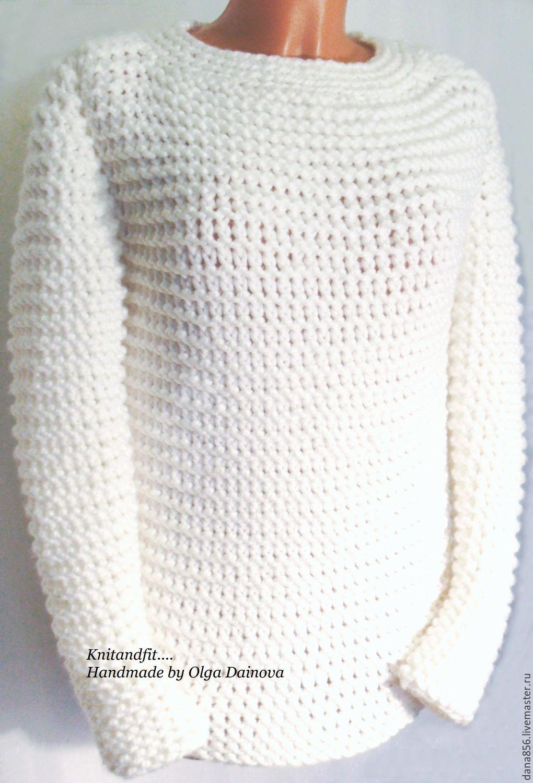 Белый свитер купить женский доставка
