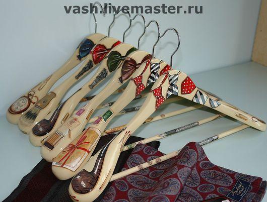 Прихожая ручной работы. Ярмарка Мастеров - ручная работа. Купить Вешалка-плечики для одежды  Мужская XL. Handmade. Подарок мужчине