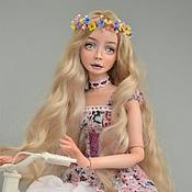 Куклы и игрушки ручной работы. Ярмарка Мастеров - ручная работа Мия. Фарфоровая шарнирная кукла. Handmade.