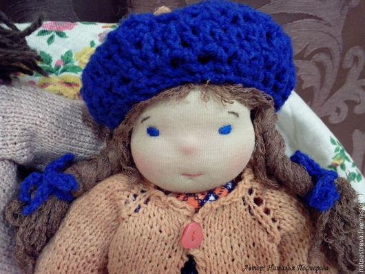 Вальдорфская игрушка ручной работы. Ярмарка Мастеров - ручная работа. Купить Кукла игровая, Настена, 30 см. Handmade.