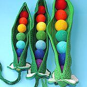 Куклы и игрушки handmade. Livemaster - original item Toy Peas. Handmade.
