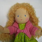 """Куклы и игрушки ручной работы. Ярмарка Мастеров - ручная работа Вальдорфская кукла """" Полина"""" 40 см.. Handmade."""