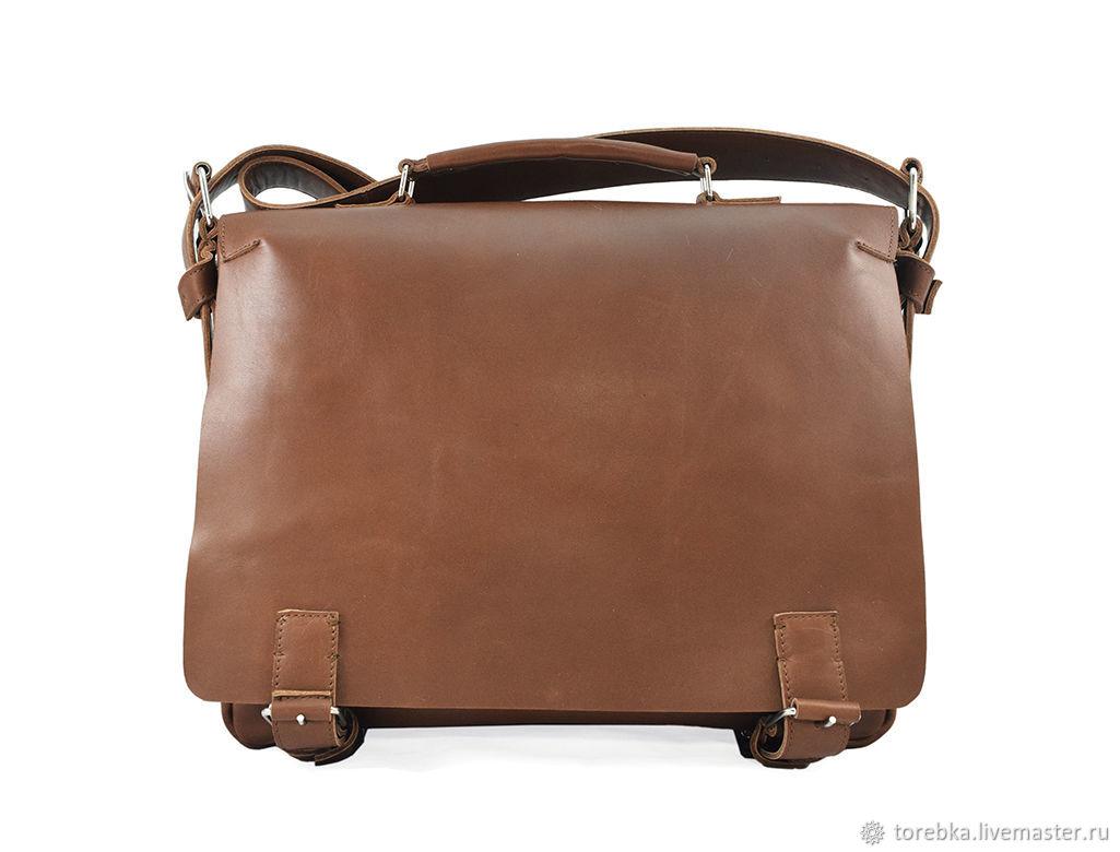 Кожаный мужской портфель, Мужская сумка, Львов,  Фото №1
