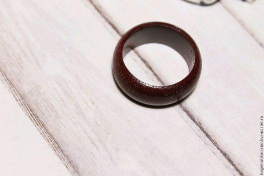 Кольца ручной работы. Ярмарка Мастеров - ручная работа. Купить Кольцо деревянное простое  из Амаранта. Handmade. Деревянное кольцо, кольцо