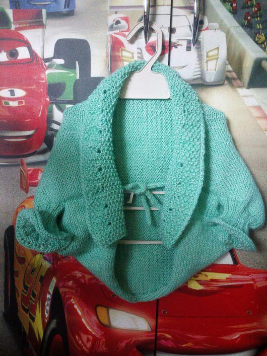 Одежда для девочек, ручной работы. Ярмарка Мастеров - ручная работа. Купить Болеро вязаное для девочки 1-2 лет на рост 73-86 см. Handmade.