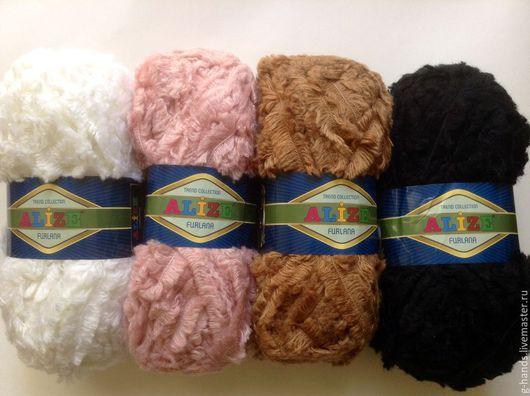 Вязание ручной работы. Ярмарка Мастеров - ручная работа. Купить Пряжа Alize Furlana. Handmade. Пряжа ализе, пряжа для вязания