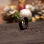 Украшения handmade. Livemaster - original item Ring of ebony. Handmade.