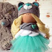 Куклы и игрушки ручной работы. Ярмарка Мастеров - ручная работа Малышка тедди. Handmade.