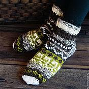 Аксессуары handmade. Livemaster - original item Knitted socks. Women warm socks. Handmade.